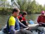 1.májový sjezd řeky Bečvy 2016