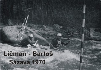 Ličman - Bartoš, Sázava 1970